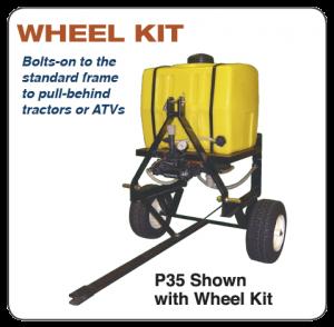 BDI P35 Wheel Kit