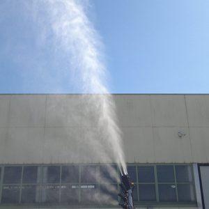 Vertical Cannon Jet Spray Head (T.GCV)